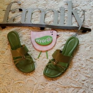 Cole Haan Green Classy Sandal size 8
